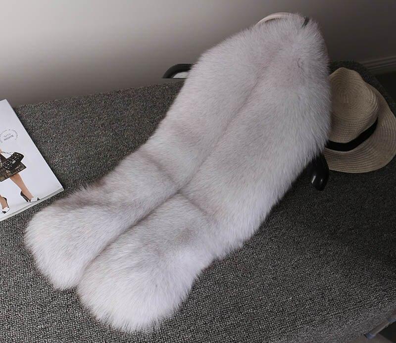 fox skin scarf big fox fur scarf (21)