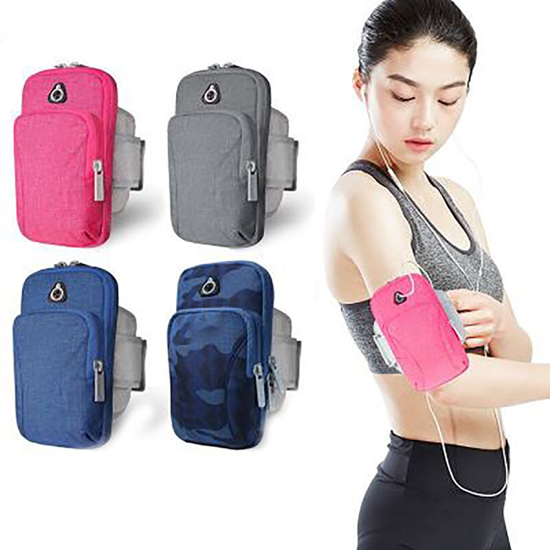 Outdoor Sports Running Mobile Phone Bag Arm Bag Waterproof Anti-slip Sports Outdoor Equipment Wrist Bag