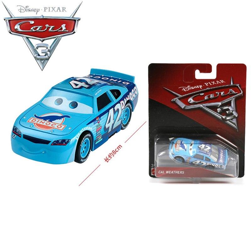 Disney Pixar Cars 3 No 42 Cal Weathers Dinoco Alloy Car