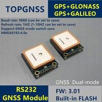 Rs232 gps glonass 지원 galieo 듀얼 모드 m8n gnss 모듈 안테나 수신기  내장 플래시  nmea0183 fw3.01 3.3-5 v gps 모듈