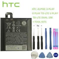 100% Original HTC B2PZM100 battery fit para HTC Alpine U jugar TD-LTE Dual SIM pila + herramienta