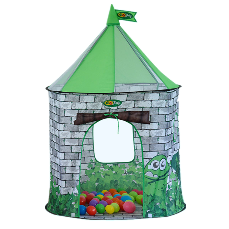 Frog Toy Tents Baby Game House 92x92x125cm Foldable Tent for Kids Gift eco friendly kids folding house tent canvas tent toy tents