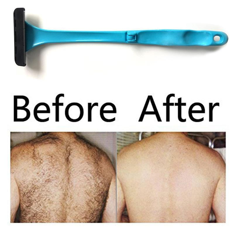 Folding Back Hair Removal Device Udsøgt Manuel Razor Shaver - Barbering og hårfjerning - Foto 3