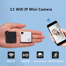 C1 Mini Camera Wifi P2P IP 720P H.264 HD Mini Camera Wireless Action Cam Bike Camera Mini DV Camera Video Voice Recorder(China)