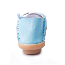 Leather Women shoes ladies lace-up fashion casual comfortable shoe