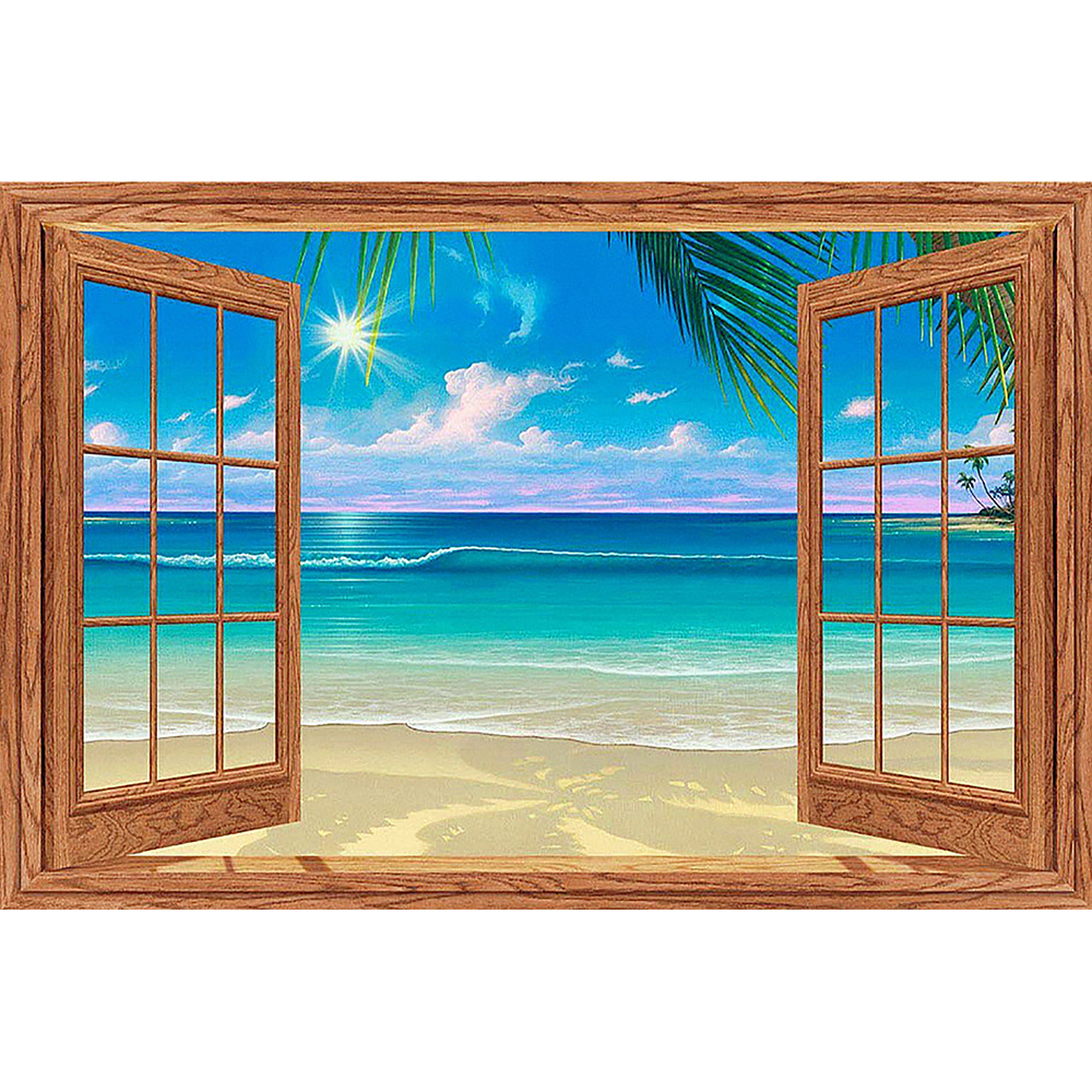 5D Diamond Painting Ocean View Kit