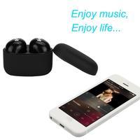 HL 2017 Mini True Wireless Bluetooth Twins Stereo In Ear Headset Earphone Earbuds Black Oct13
