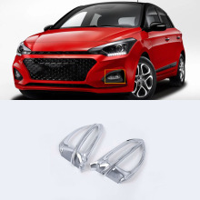 ABS Chrome Exterior car-styling accessories front fogliht cover For HYUNDAI I20 high quality