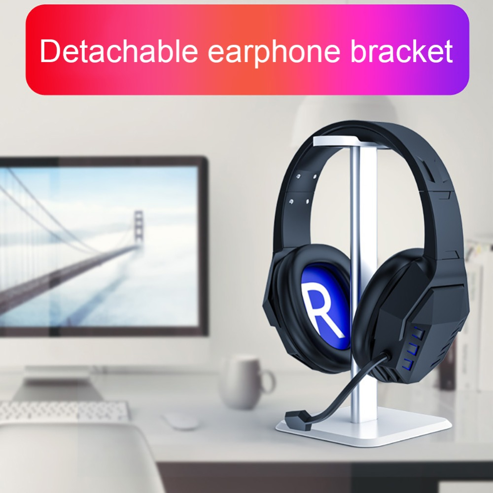 For Gaming Headphones Headsets Holder Plastic Headphone Holder Aluminum Alloy ABS Stand Detachable Stable Desktop BracketFor Gaming Headphones Headsets Holder Plastic Headphone Holder Aluminum Alloy ABS Stand Detachable Stable Desktop Bracket