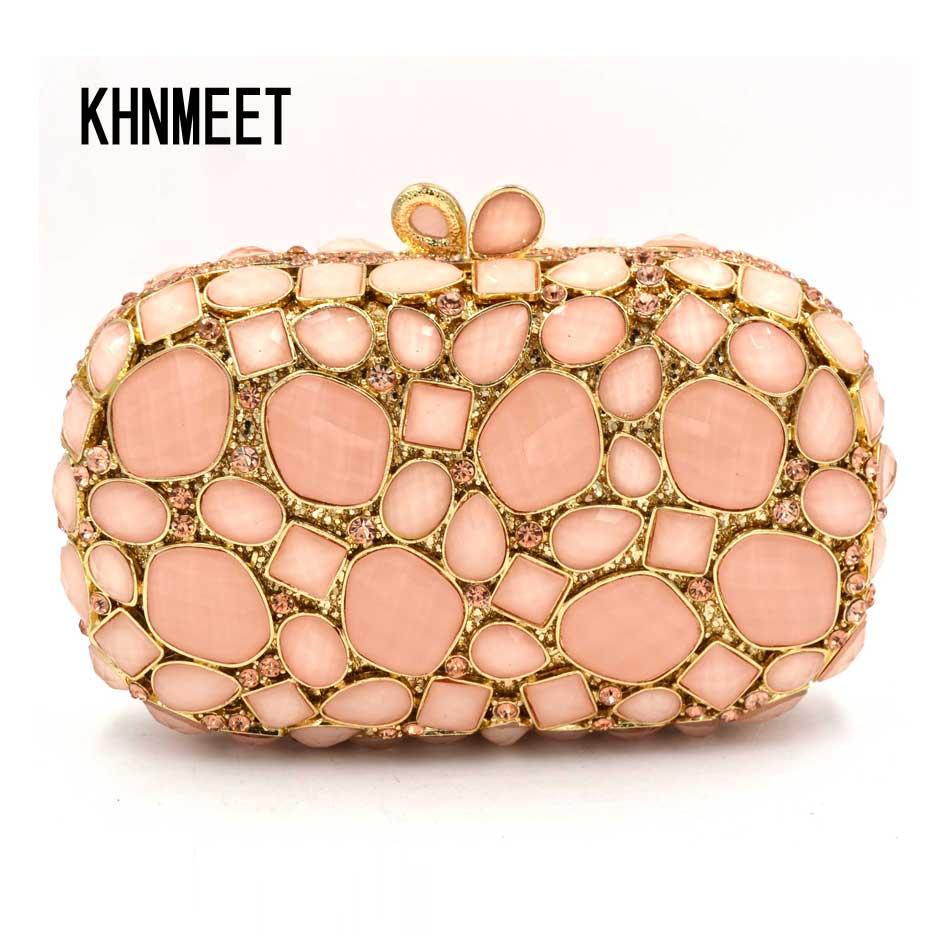 Fashion Designer Luxury Women's Crystal Evening bag Party Clutch Bags Wedding Diamond Beaded Bag Rhinestone Small Shoulder bag