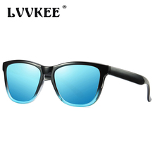 LVVKEE New Polarized Mirror Sunglasses For Men Women Fashion Vintage Coating Sun Glasses Ladies Goggle Driving Eyewear UV400