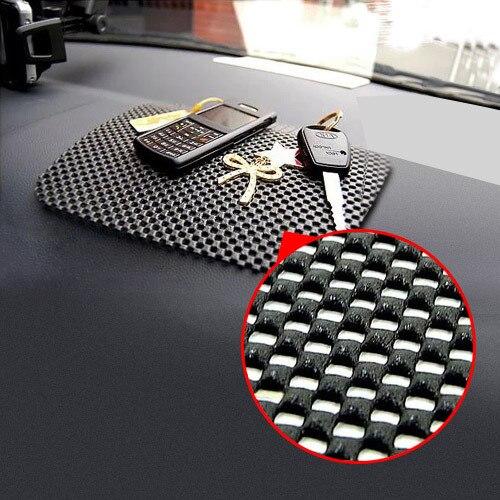 Magic Cell Phones Anti Slip Dash Mat Mobile Phone Pad Holder for Car Black Color 22*19cm Big Size