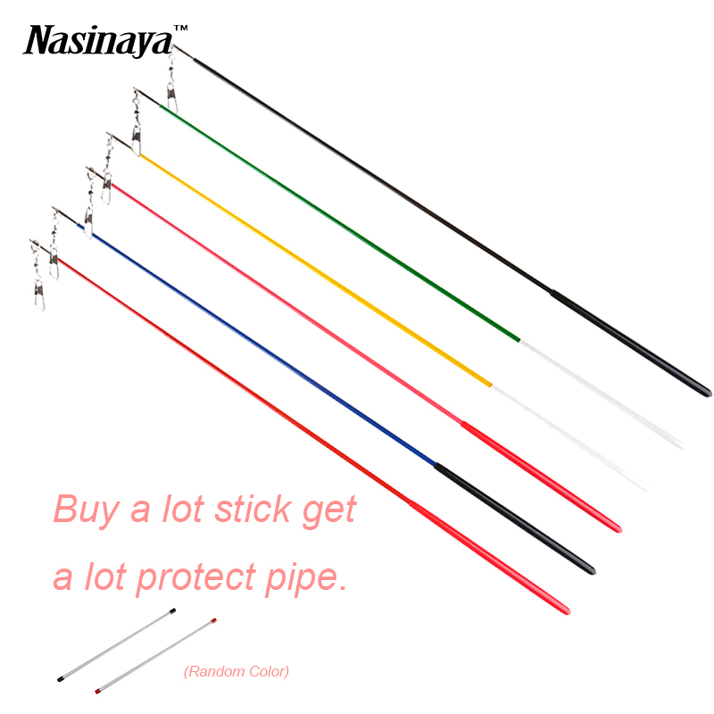 49cm Rhythmic Gymnastics Ribbon Stick Gimnasia Ritmica Ribbon Bar Competition Child Adult Props Divisa Dance Apparatus 6 Colors