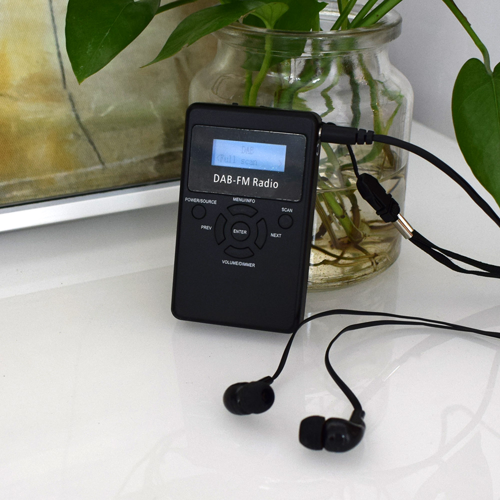 Kompetent Thundeal Digitale Dab-radio Empfänger Tragbare Dab Fm Rds Radio Tasche 1,2 display Bildschirm Mit Akku Und Kopfhörer Tragbares Audio & Video