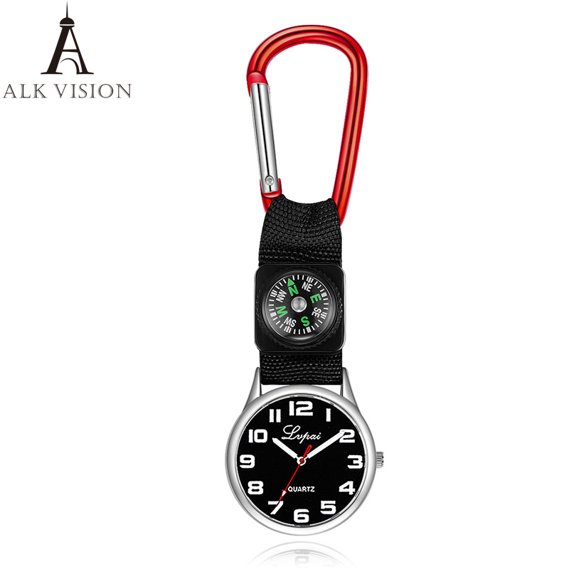 carabiner clip pocket watch for nurse fob medical sports watches vintage clock Mountaineering equipment compass dropshipping компас silva compass 28 carabiner 36694