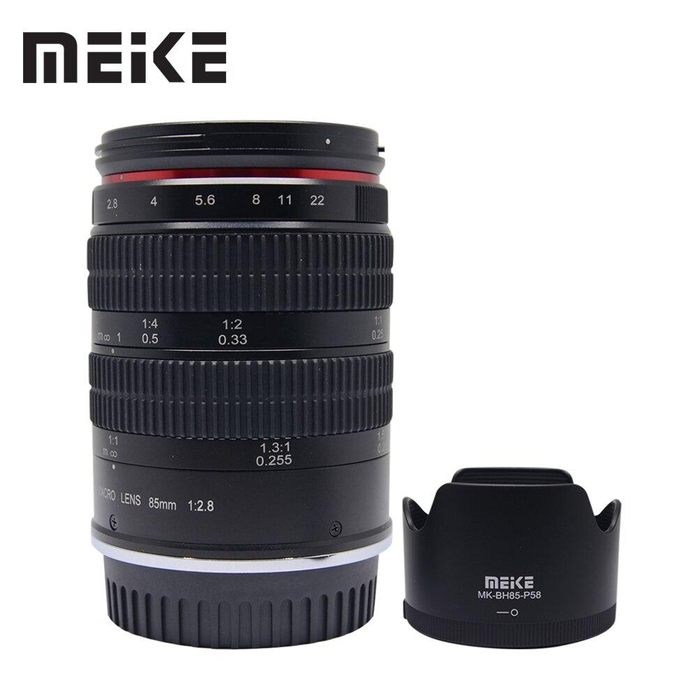 Meike 85mm f2.8 Manual Focus Full Frame Medium Telephoto 1.51 Macro Lens and Portrait Photography for Nikon SLR Cameras