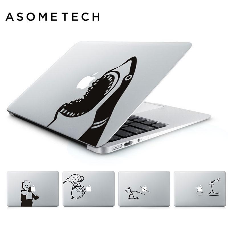 New Funny Design Laptop Sticker for Apple Macbook Pro Air Retina 13 15.4 11 12 MAC Vinyl PC Notebook Skin Computer Decal Sticker