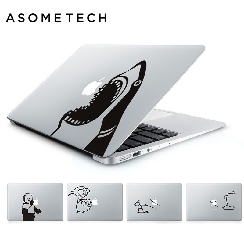 New Funny Design Laptop Sticker for Apple Macbook Pro Air Retina 13 15.4 11 12 MAC Vinyl PC Notebook Skin Computer Decal Sticker ...