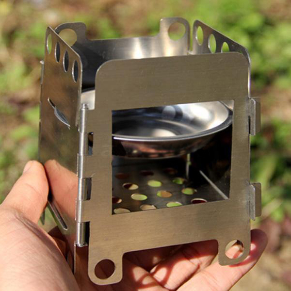 Folding Wood Stove Pocket Alcohol Stove Outdoor Cooking Camping Backpacking  #AD - Wood Stove Manufacturers Promotion-Shop For Promotional Wood Stove