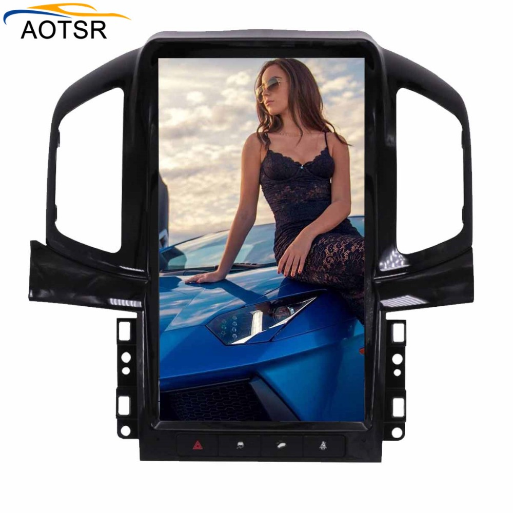 Tesla style 13.8BIG Screen Android6.0 GPS Navigation Car Radio No CD/DVD Player FOR Chevrolet Captiva 2013 2014 2015 2016 2017