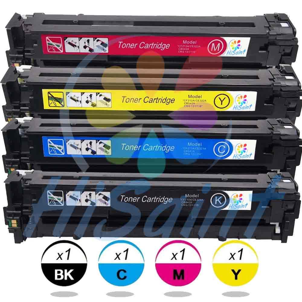 ФОТО On Sale 4PK(1xCF210X1xCF211A 1xCF212A,1xCF213A)For HP 131X Toner Cartridge For Hp Laserjet For 200 Color M251 M276 Toner Printer