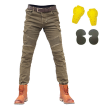 Summer Motorcycle Pants Men Moto Pants Motorcycle Jeans Motocross Riding Racing Motorbike Dirt Bike Trousers With Protector motocross motorcycle motorcycle pants man uglybros guardiano in movimento di spin bike ubp09 jeans fashion