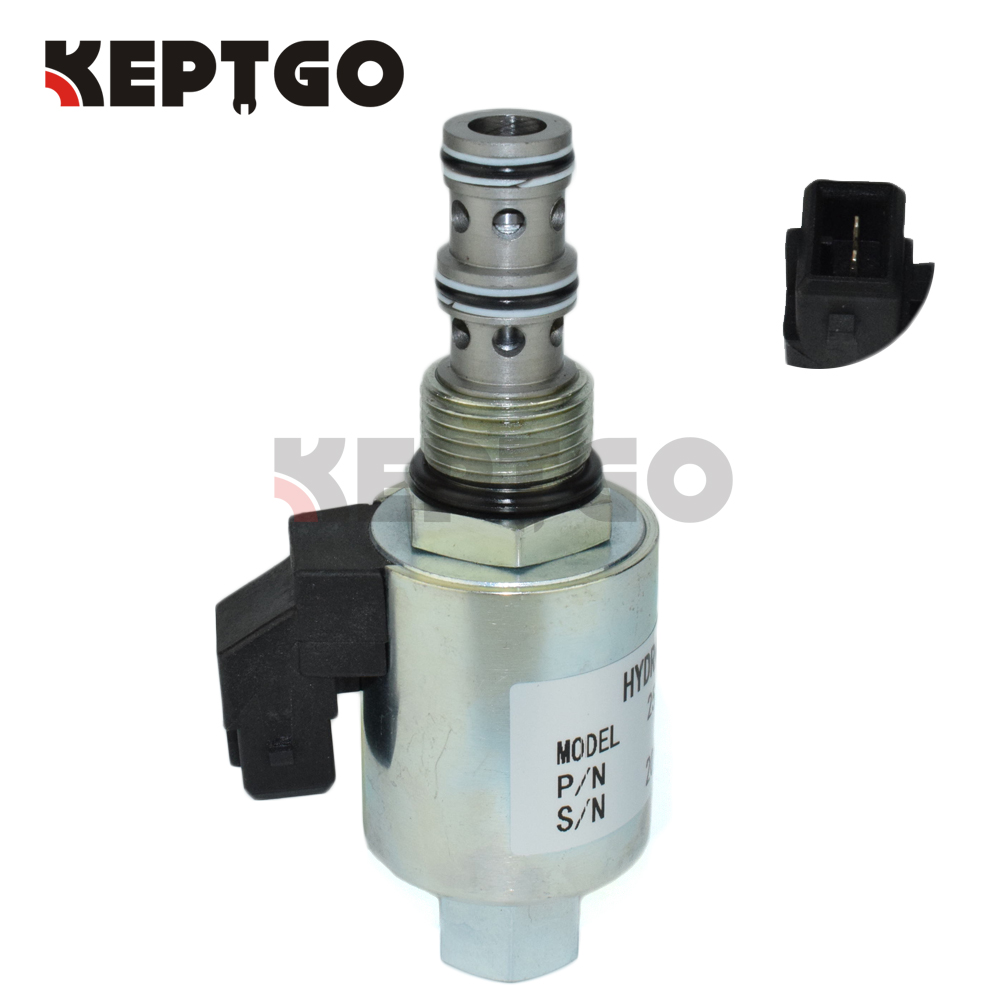 US $109 5 |12v Solenoid Valve 332/M5111 For JCB Backhoe Loader  1400B/1550B/1600B/1700B-in Generator Parts & Accessories from Home  Improvement on