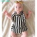 Humor bear nuevo estilo de la raya del verano de los bebés ropa fijada niños ropa infantil ropa niños ropa de la marca