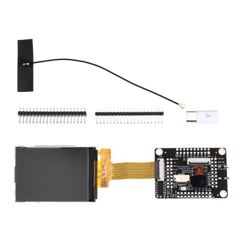 Sipeed M1 Dock Development Board + 2.4 Inch 320*240 LCD Screen Display Module + OV2640 Camera Kit (Wifi Version) IOT
