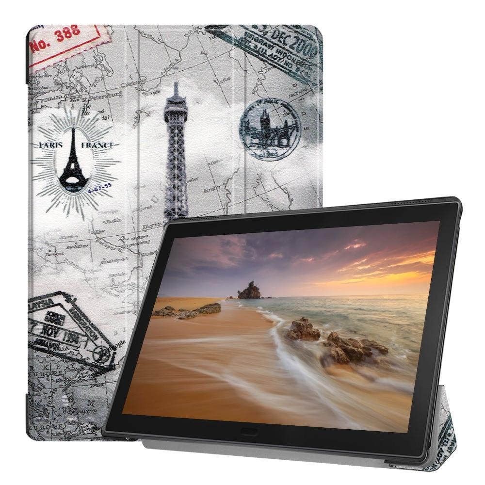 PU Leather Stand Case for Lenovo Tab E10 10.1