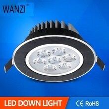 5 Вт 7 Вт светодиодный потолочный светильник матовый черный/Золотой/Серебряный светодиодный потолочный светильник luces decoracion led 220 В