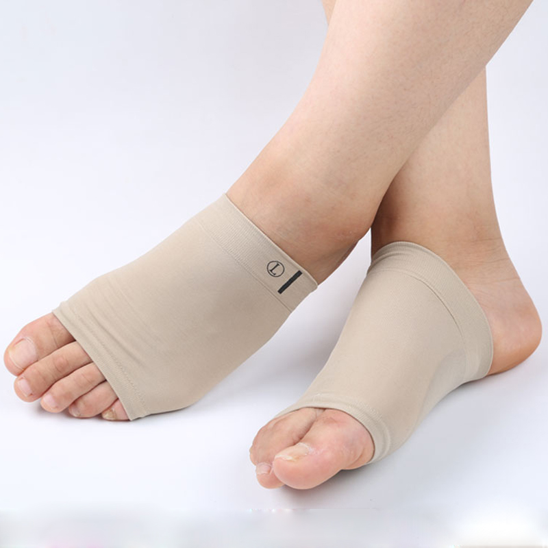 6a2782b1 1 par de soporte de arco de talón de cuidado de pies planos de manga  ortopédica cojín pies ortopédico pie arco herramienta ortopédica de  plantilla del ...