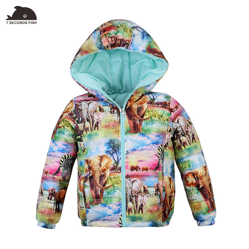 Girls Winter Coat Double sided wear 80% White Duck Down Jackets Children winter jackets down jacket for girl children down jacket coat for girl winter jackets girls 30 degree jacket children coats warm 100% thick duck down 30