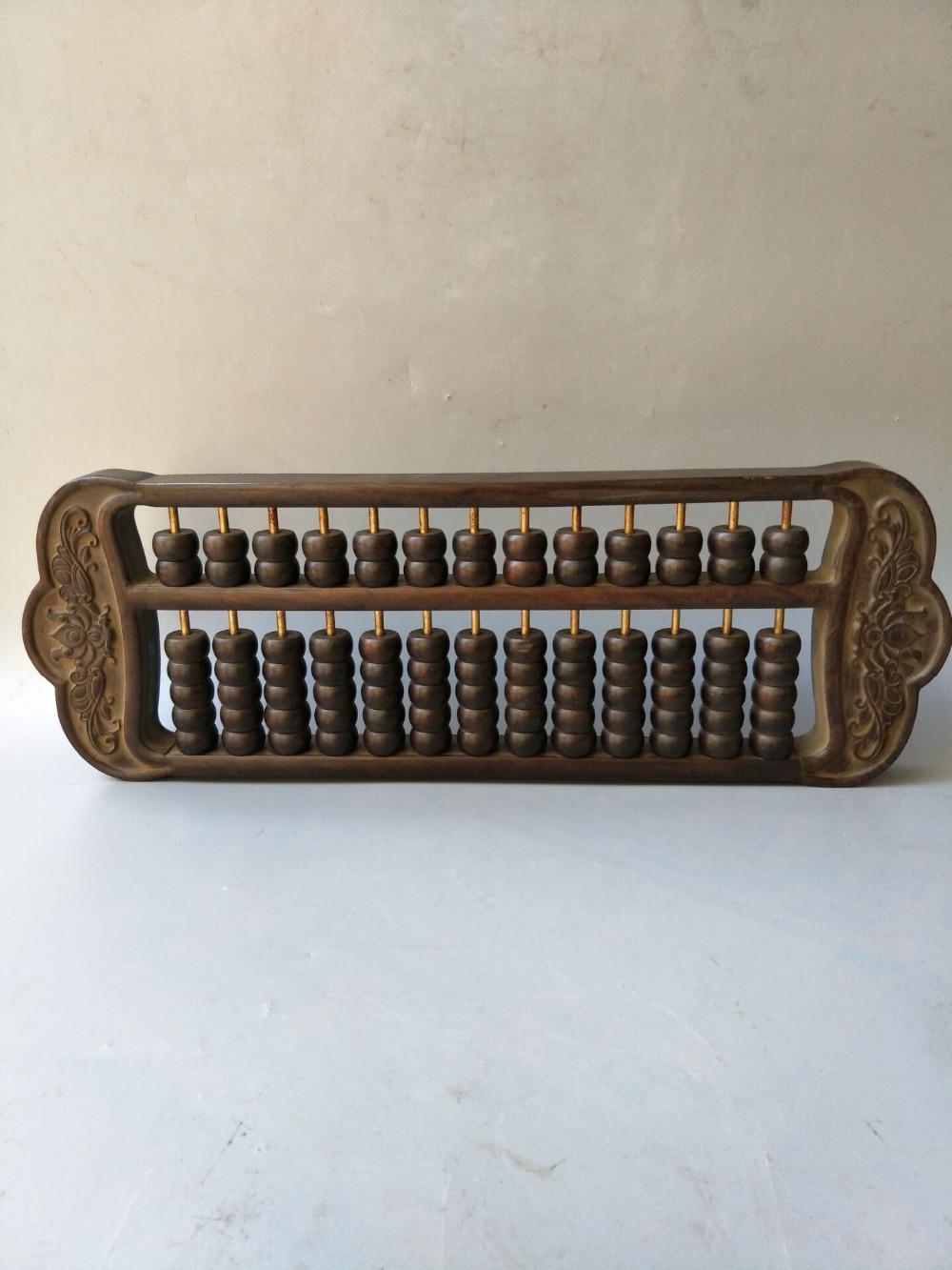 Outil de calcul Antique de la chine Rare-abacus, bois, artisanat de sculpture à la main, Collection et ornement, livraison gratuite