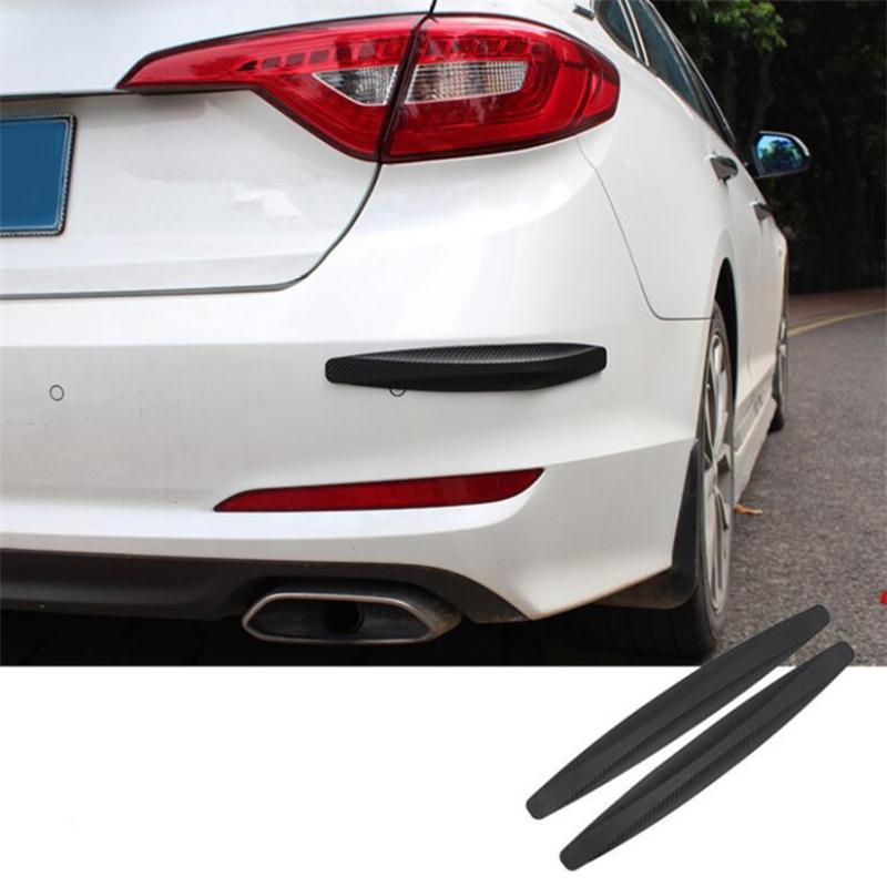 Generous 2pcs Car Carbon Fiber Bumper Crash Bar For Chevrolet Cruze Trax Aveo Lova Sail Epica Captiva Volt Camaro Cobalt,car Styling More Discounts Surprises Exterior Parts