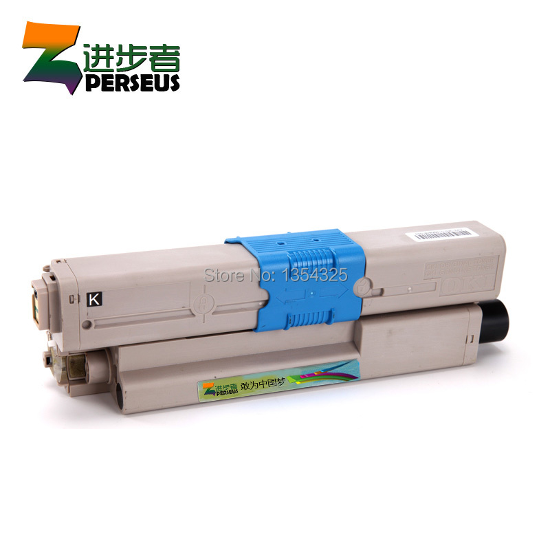 ФОТО PERSEUS TONER CARTRIDGE FOR OKI MC351 MC352 MC361 MC362 C330DN C510DN C530DN PRINTER BK C Y M FULL GRADE A+