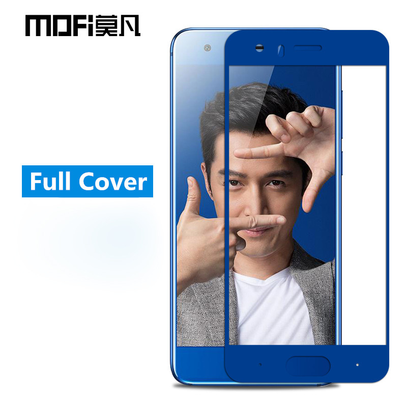 Honor-9-glass-tempered-Huawei-honor-9-screen-protector-full-cover-blue-protective-film-MOFi-Huawei