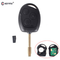 KEYYOU 3 Buttons 315 433MHZ Remote Keyless Entry Key Fob For Ford Mondeo Fiesta Focus Ka