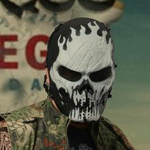 Skull Mask Chiefs Ghost Camo Tactical Special Military Mask Protective Skull Full Face Mask