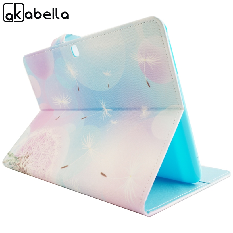 Pattern Painted PU Leather Tablet Case For Samsung Galaxy Tab A 9.7 Inch T550 Case Wallet With Card Bag For T555 Cover