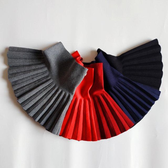 Baby Girl's Casual Pleated Mini Skirt 5