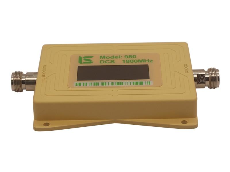Gsm lte 1800 booster affichage LCD 70dB Gain 2g 4g LTE booster de téléphone portable DCS 1800 MHz amplificateur de téléphone portable amplificateur de Signal GSM