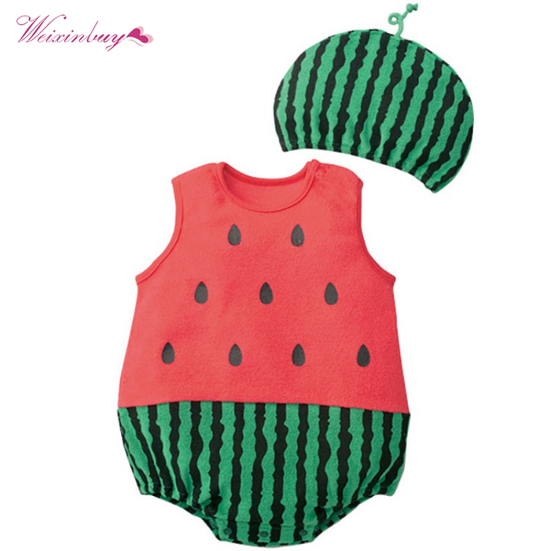 1d7ddeb3794 Detail Feedback Questions about Baby Clothes Boy Girl Cartoon Rompers  Summer Cotton Animal And Fruit Pattern Infant Jumpsuit+Hat Set Newborn  Costumes on ...