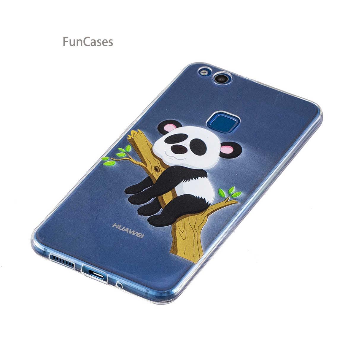 ยูนิคอร์นน่ารักsFor C Elularหัวเว่ยP10 Liteซอฟท์ซิลิโคนโทรศัพท์กรณีCasoใสกรณีกระเป๋าสตางค์สำหรับหัวเว่ยAscendโนวาLite