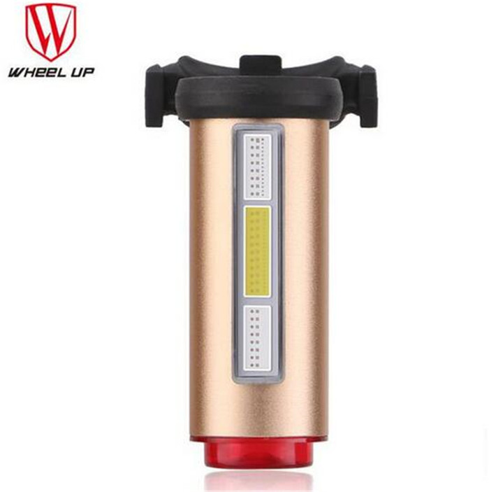 Wheel Up Aluminum USB Rechargeable Bicycle Light Taillight Comet LED Rear Tail Bike Light Lamp Warning Safety Bycicle Cycling Li wheel up bicycle head light bike intelligent led front lamp usb rechargeable cycling warning safety flashlight light sensor
