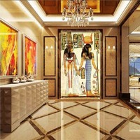 Free Shipping Custom Retro Egypt Traditional Style Meaning Large Mural Theme Restaurant Study TV Background Wallpaper