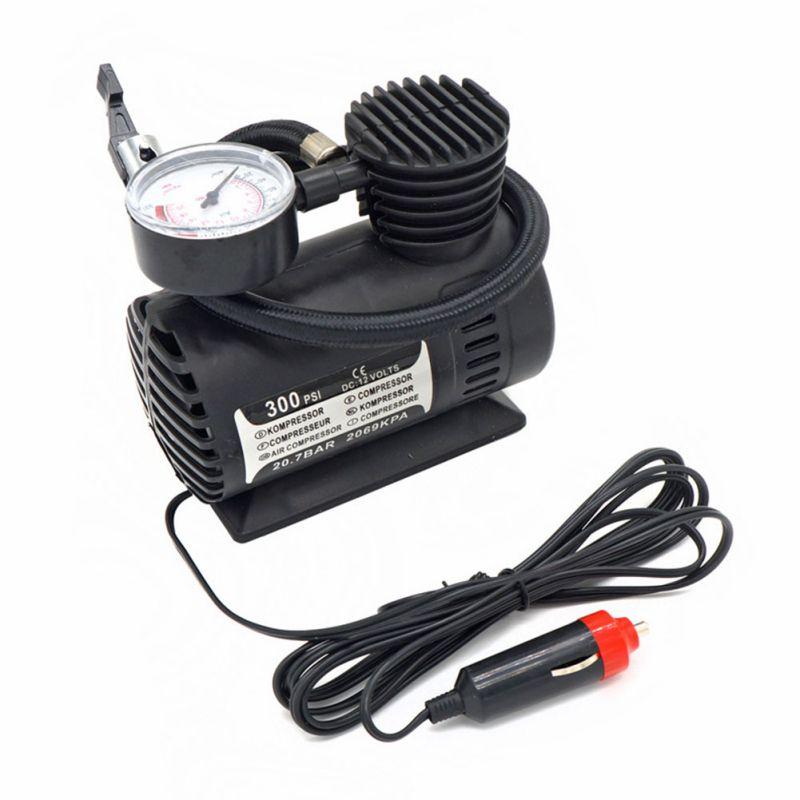 Portable 12V Car Mini Air Compressor Auto Car Electric Tire Air Inflator Pump