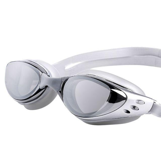 Adjustable Waterproof Anti Fog UV Protection Adults Professional Colored Lenses Diving Swimming Glasses Eyewear Swim goggles