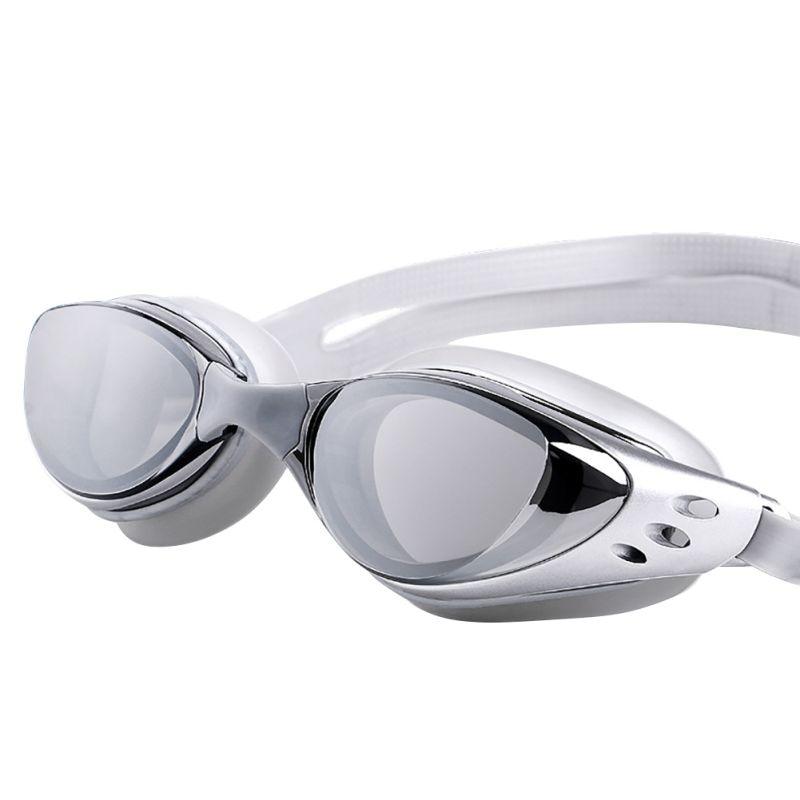Adjustable Waterproof Anti Fog UV Protection Adults Professional Colored Lenses swimming pool Glasses Eyewear swimming Goggles цена