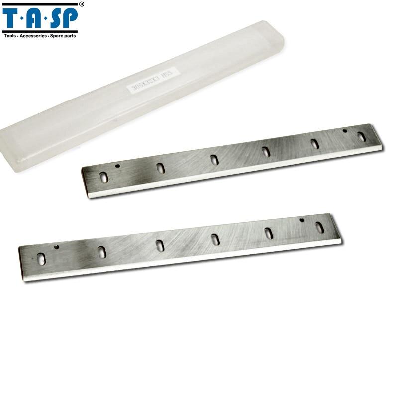 "TASP 12 ""HSS Grosor Hoja Cepilladora 305x32x3mm Cuchilla Cepilladora De Madera Para Makita 2012NB"